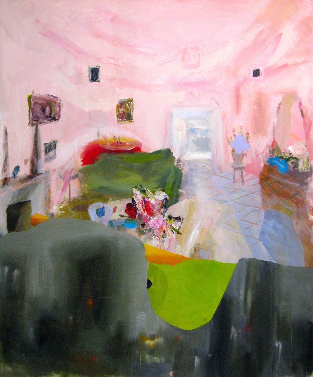 "Fleshy Pink Room 72"" x 60"""