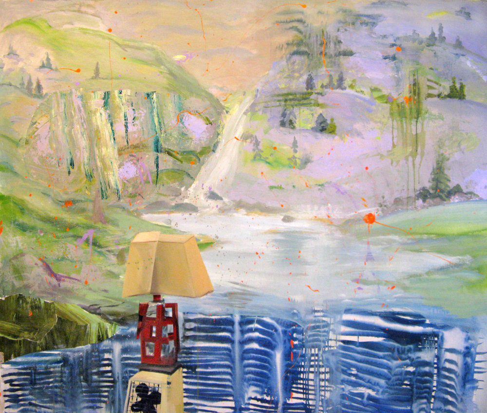 "Fine Asian Atmosphere 64"" x 76"""