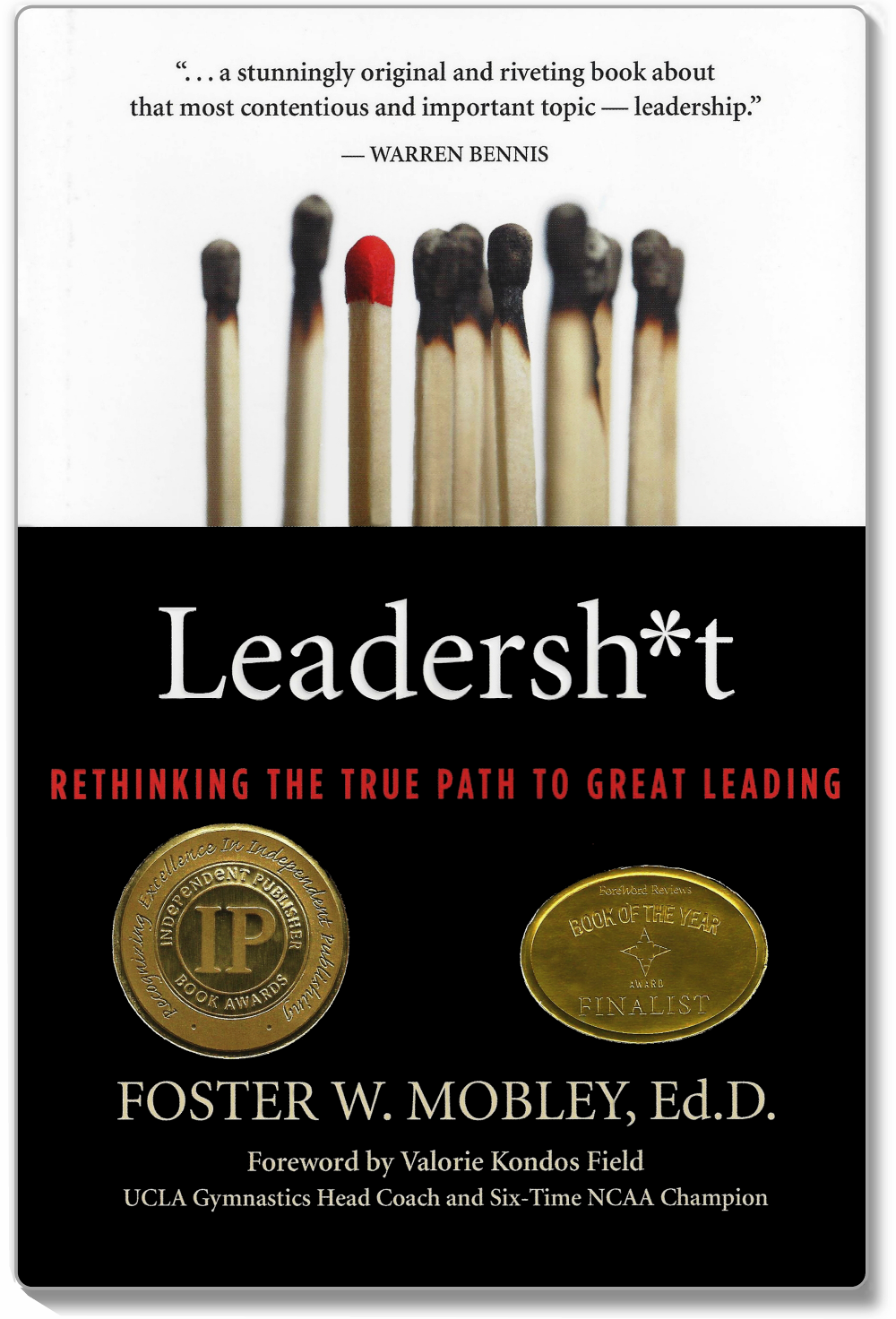 Leadersh*t Book Cover Mobley