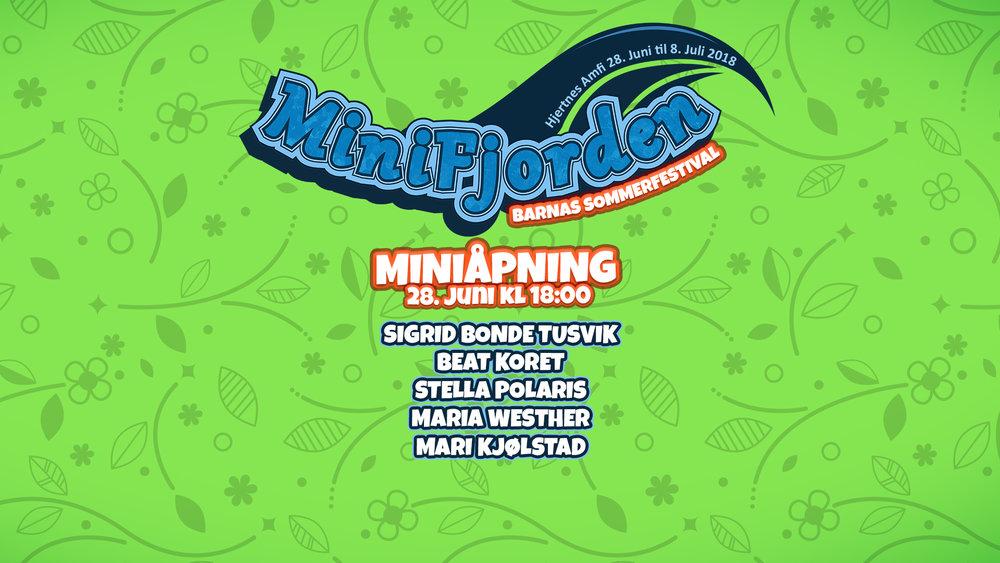MiniÅpning! - Torsdag 28. juni 18.00Kjøp billetter her!