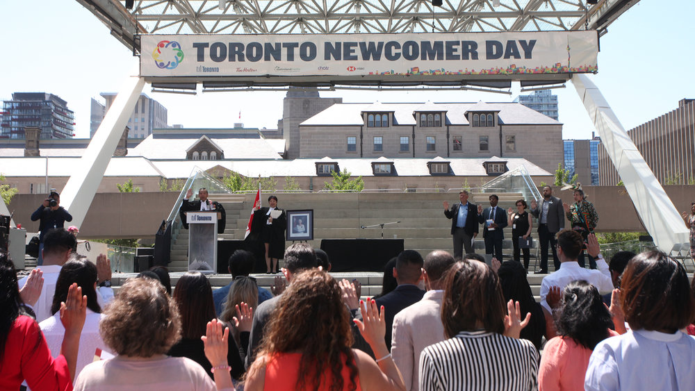 City of Toronto  Toronto Newcomer Day