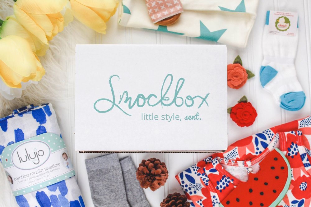 Smockbox. Little style, sent. Available in sizes newborn - 2T