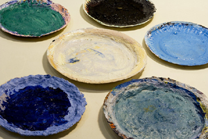 wayne-thiebaud-robert-weingarten-paper-plates-weston-gallery-carmel.jpg