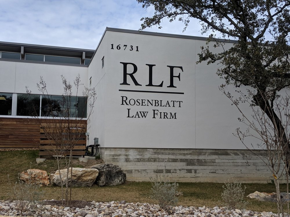 Rosenblatt Law Firm Logo on Building.jpg