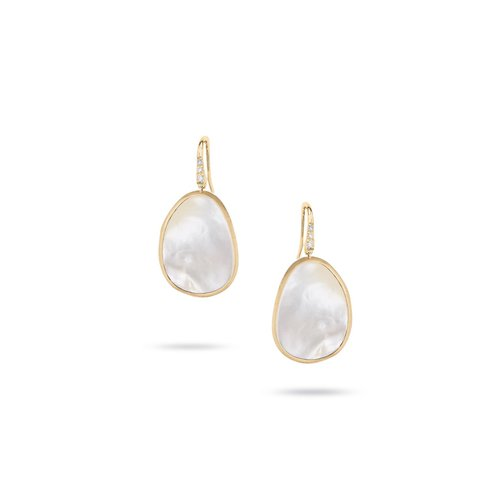 edb0f41aa5019c Marco Bicego White Mother of Pearl and Pave Diamond Earring ...