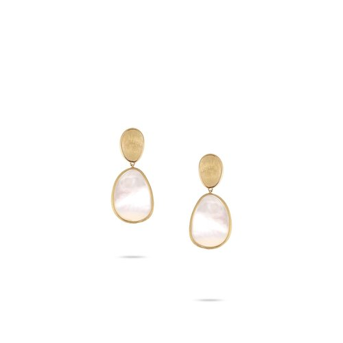 46616d3c6e2650 Marco Bicego Petite White Mother of Pearl Earring — Providence Diamond
