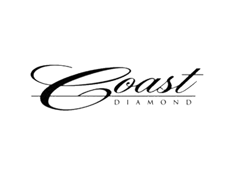 Coast diamond engagement rings and wedding bands at Providence Diamond.