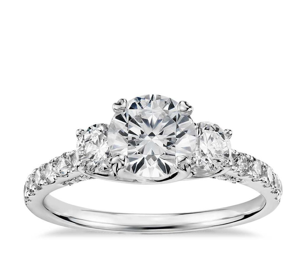 engagement rings at Providence Diamond.