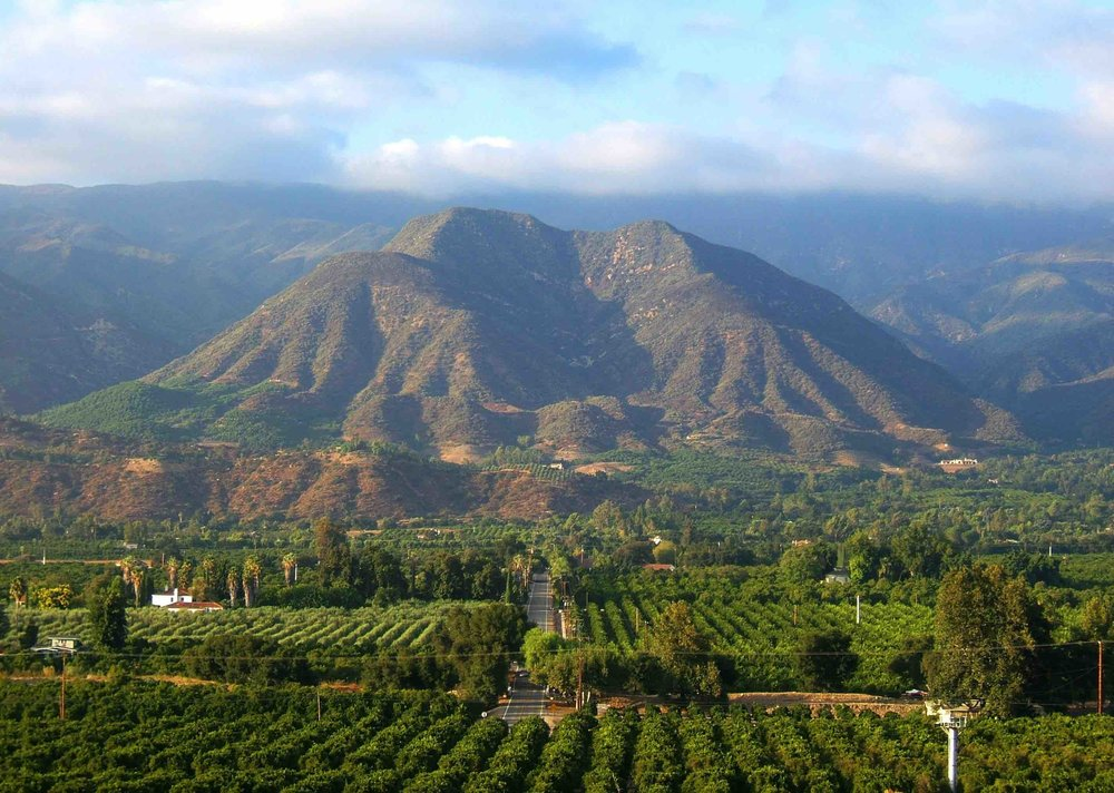Ojai from above!