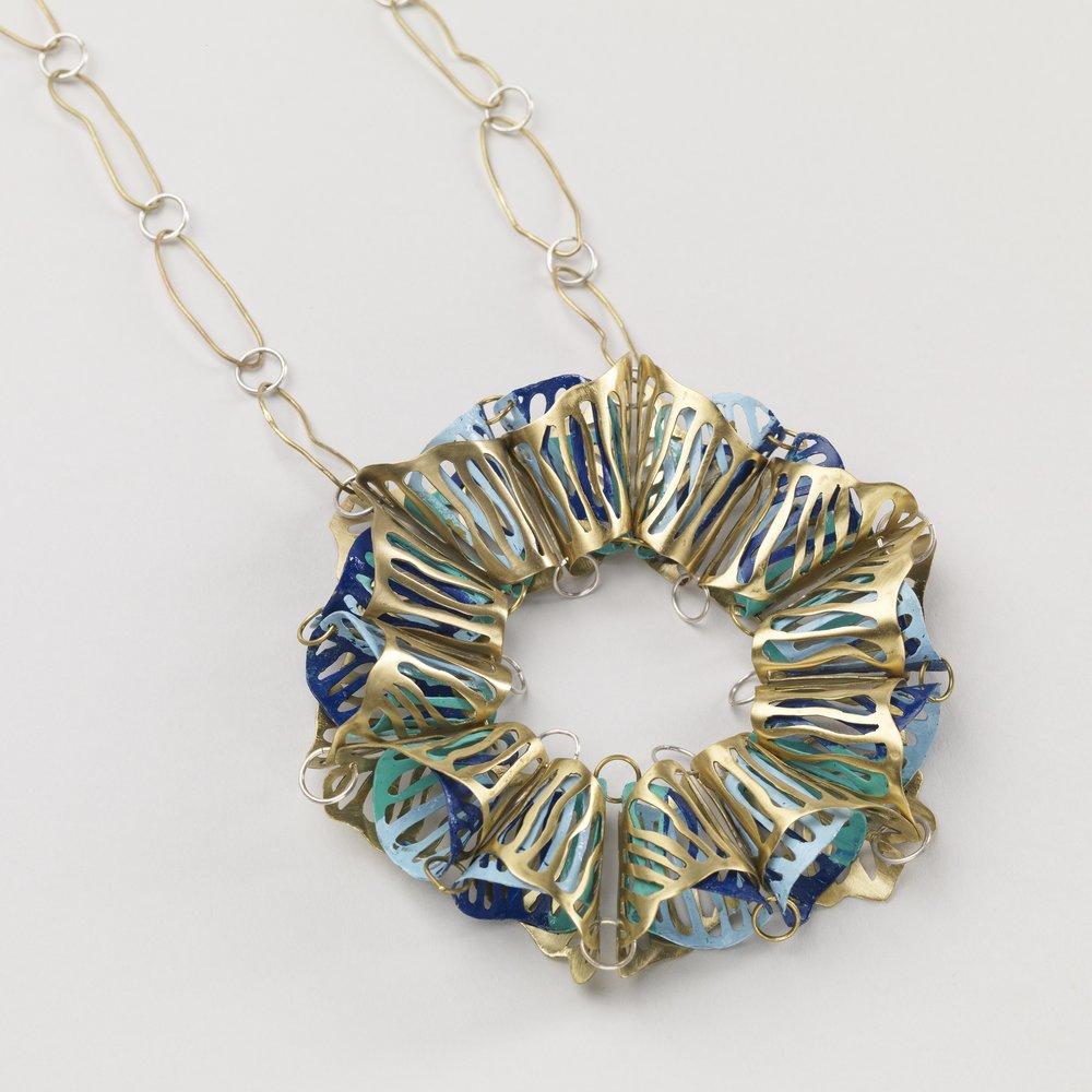 Necklace - Brass / Spray Paint