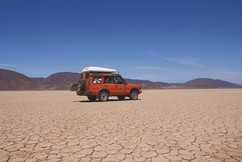 Saharan adventure in a Land Rover