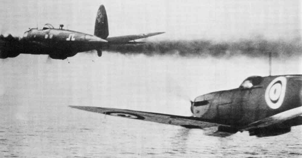 Spitfire versus Dornier