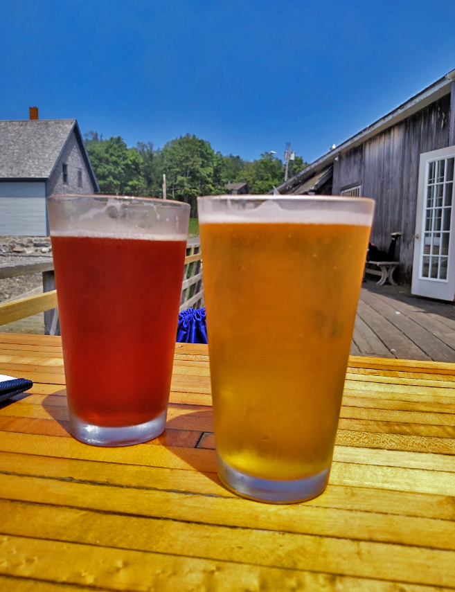 beers on the dock.jpg
