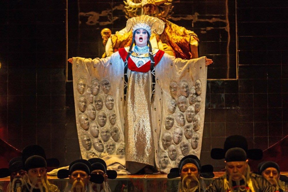 Turandot,  Pittsburgh Opera Photo Credit: David Bachman