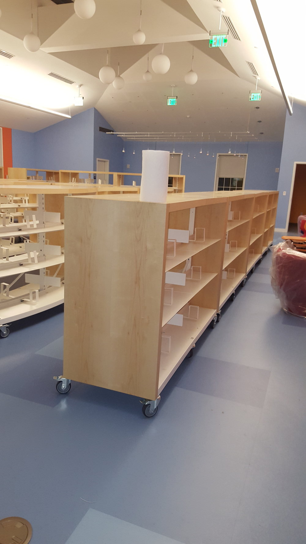 Children's Room Straight Shelving on Wheels.jpg