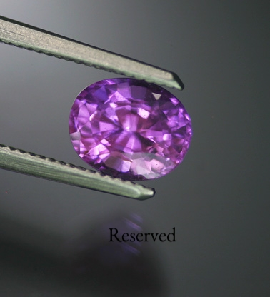 1.53 ct. Unheated Pink Sapphire