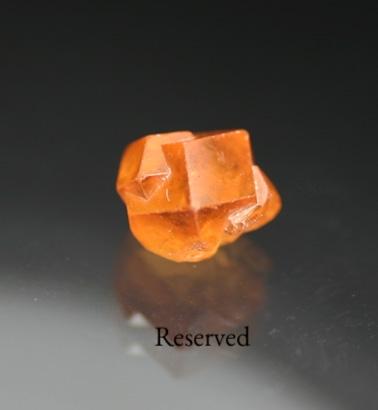 1.51 ct. Gem Spessartite Crystal