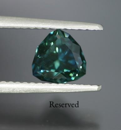 1.92 ct. Bluish-Green Sapphire