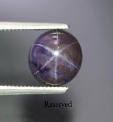 3.60 ct. Purple Star Spinel