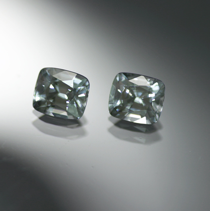 2.38 ct. Gray Spinel Matched Pair