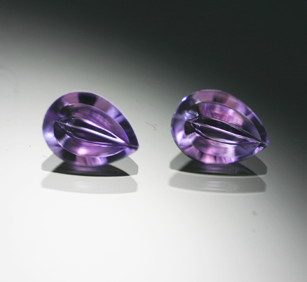 1.54 ct. Amethyst Pair by Munsteiner