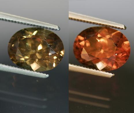 4.13 ct. Color Change Garnet