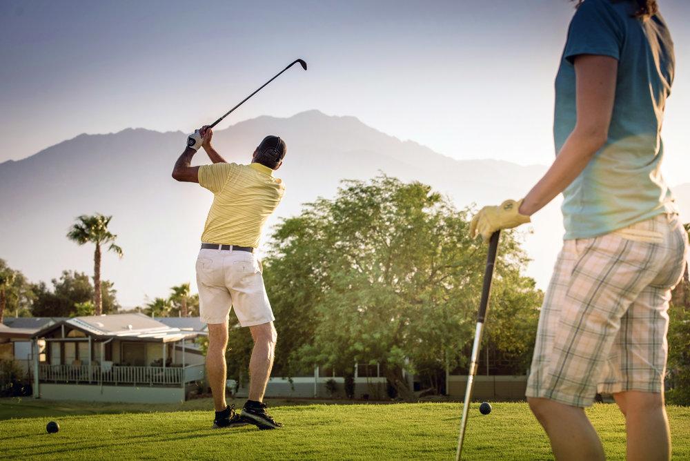 Golf at Caliente Springs