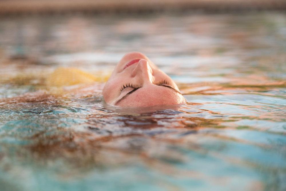 Natural Hot Pools