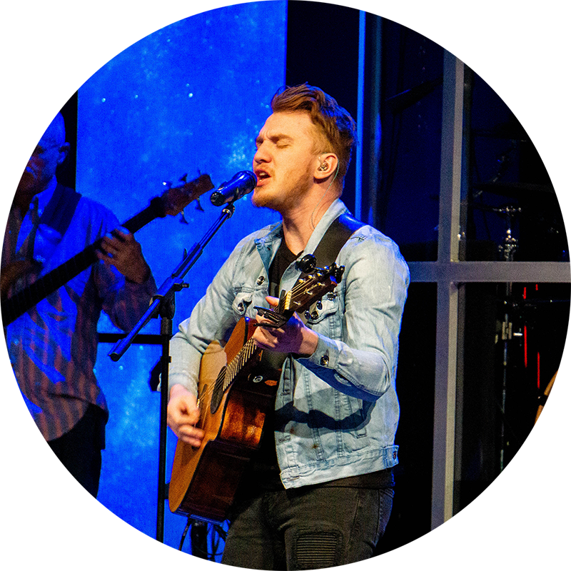 Jordan Voyles  Worship and Young Adults Director