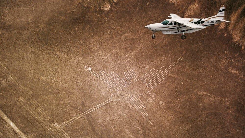 Nazca lines, Peru.  UNESCO & Beyond.