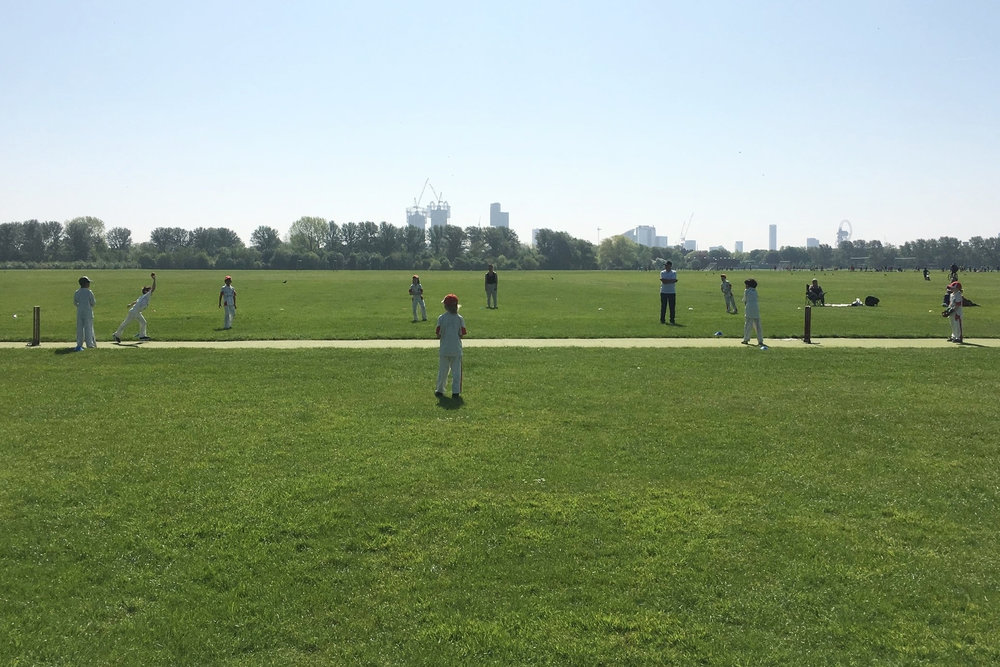 Outdoor Summer training at Hackney Marshes…