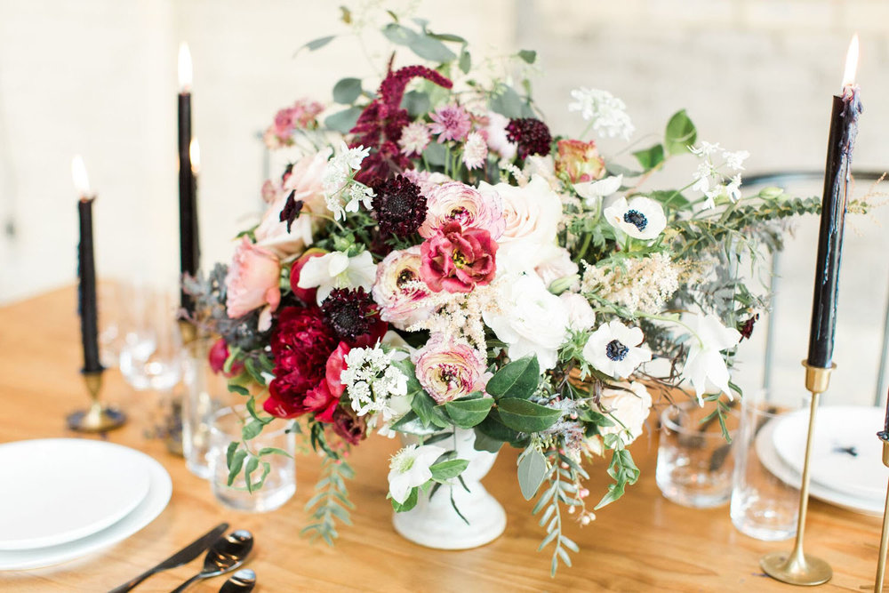 Michigan & Destination Floral Studio - Abundant and artful meets bold and balanced