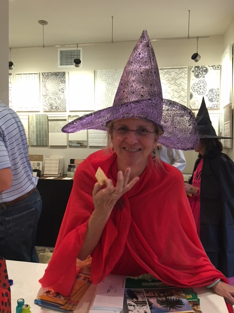 Anne stole the evening with her gorgeous purple hat!