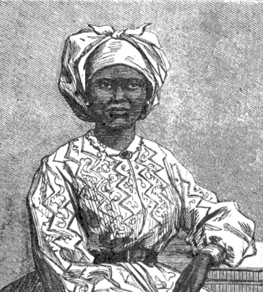 American and African Baptist women, like the anonymous person pictured here, also worked as missionaries.