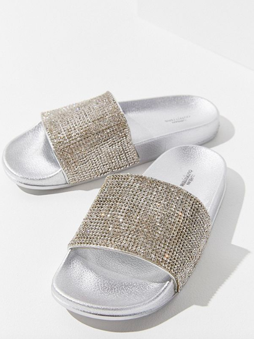 UO Rhinestone Pool Slide