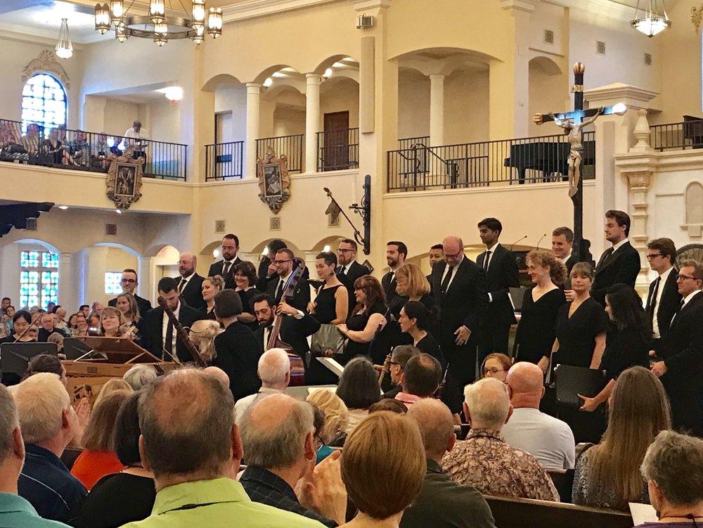 Spire Chamber Ensemble at Visitation Church