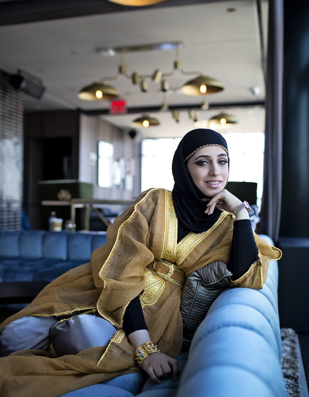Khadaja Abu Haliqa.  Fashion Designer
