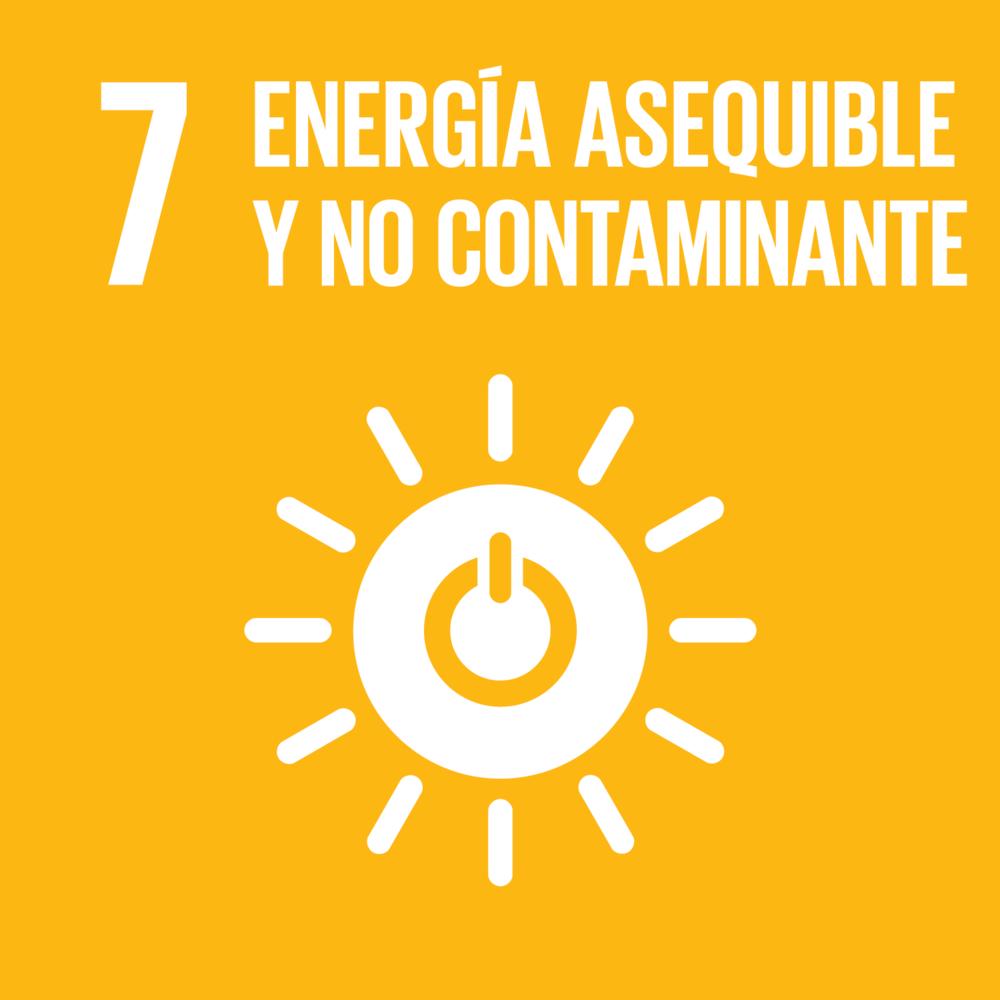 ACCESO UNIVERSAL A ELECTRICIDAD ASEQUIBLE PARA TODOS/AS, ESTIMULANDO EL USO DE FUENTES DE ENERGÍA LIMPIA, COMO LA SOLAR, EÓLICA Y TERMAL.