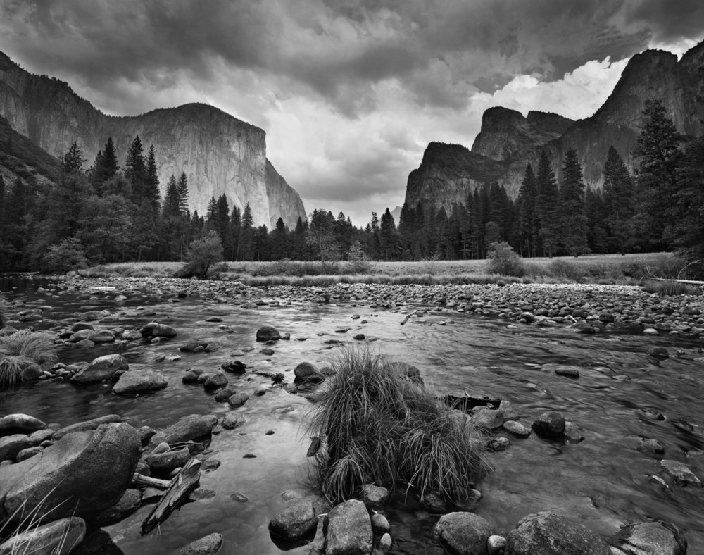 Gates of the Valley, Autumn Storm, Yosemite