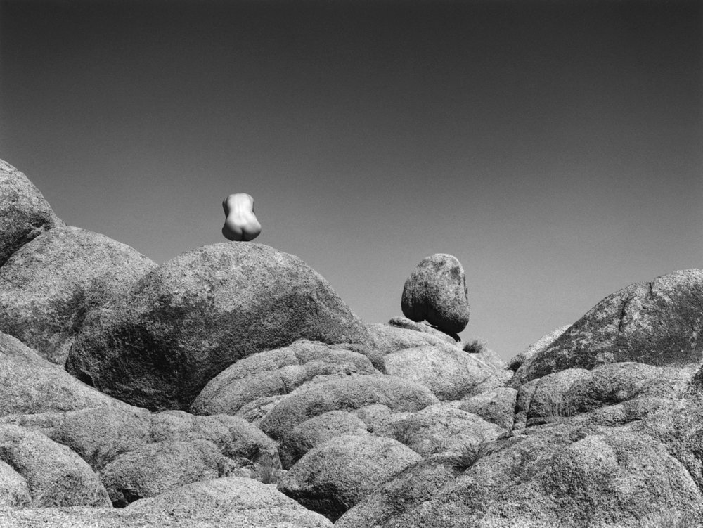 Nude and Rock, Alabama Hills, California