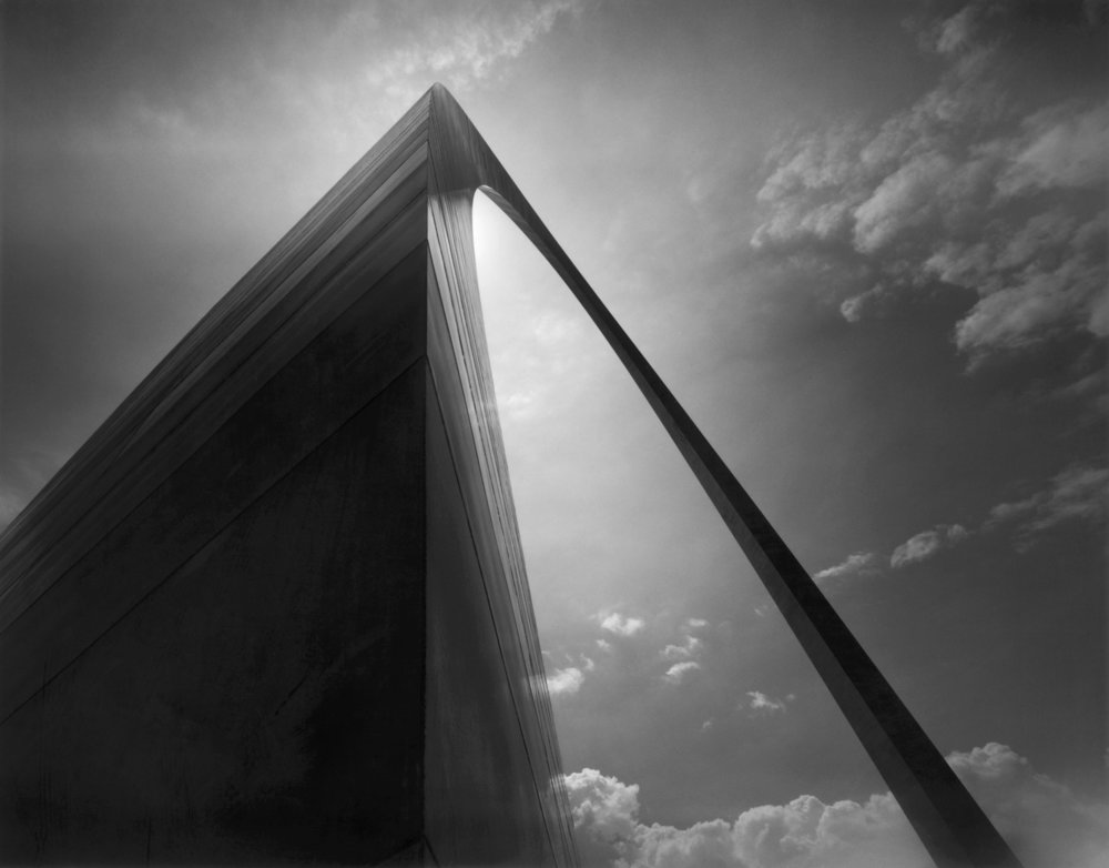 Arch, Pyramid Form, St. Louis, Missouri