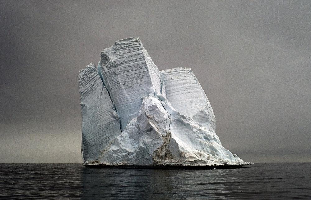Stranded Iceberg, Cape Bird, Antarctica - The Last Iceberg