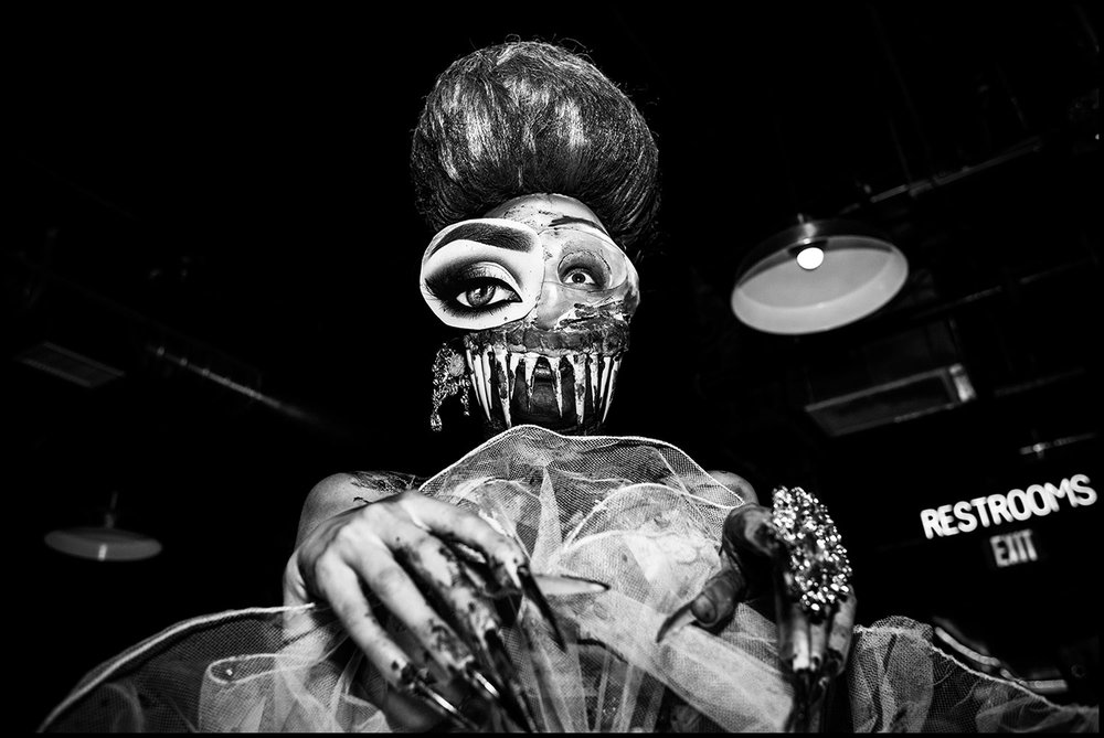Tranimal  (Los Angeles, CA) 2017 // Portrait of Drag Queen Kunda F. Couture.