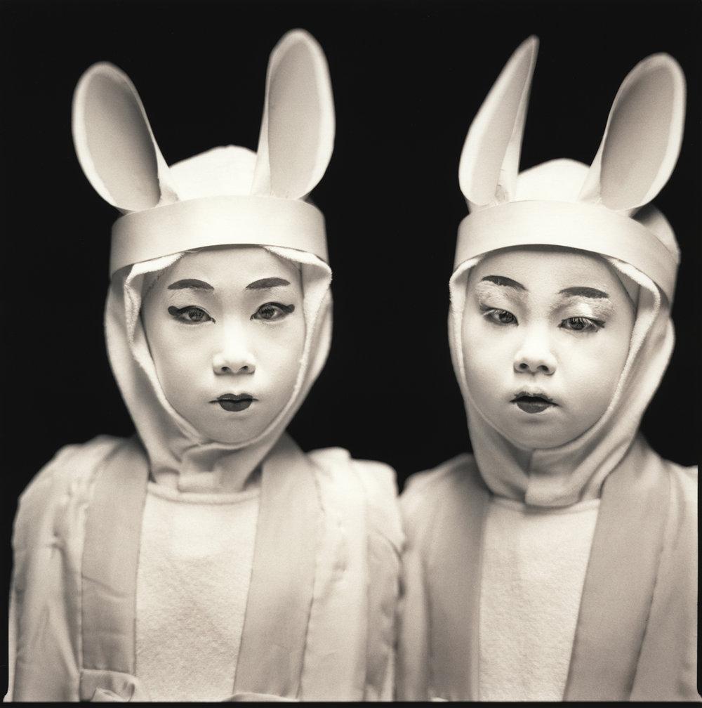 Marina Ema & Kazusa Ito, from the series Natsuo Kabuki