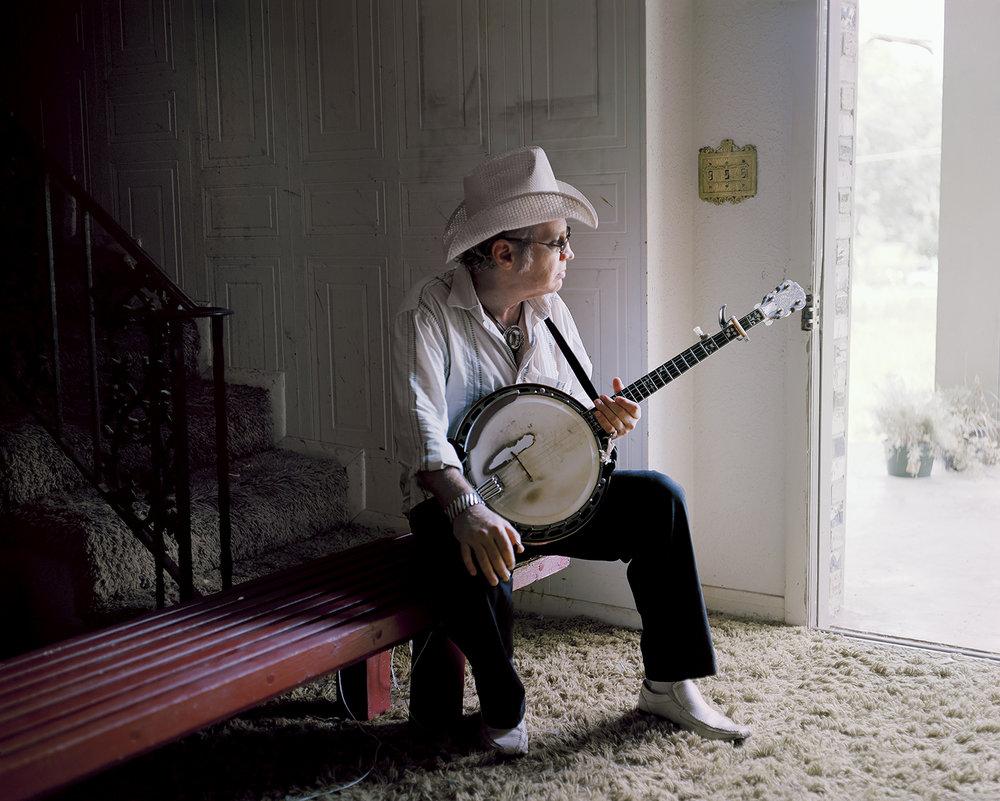 Banjo-pickin' Wade Hill. Knoxville, TN. 2014.