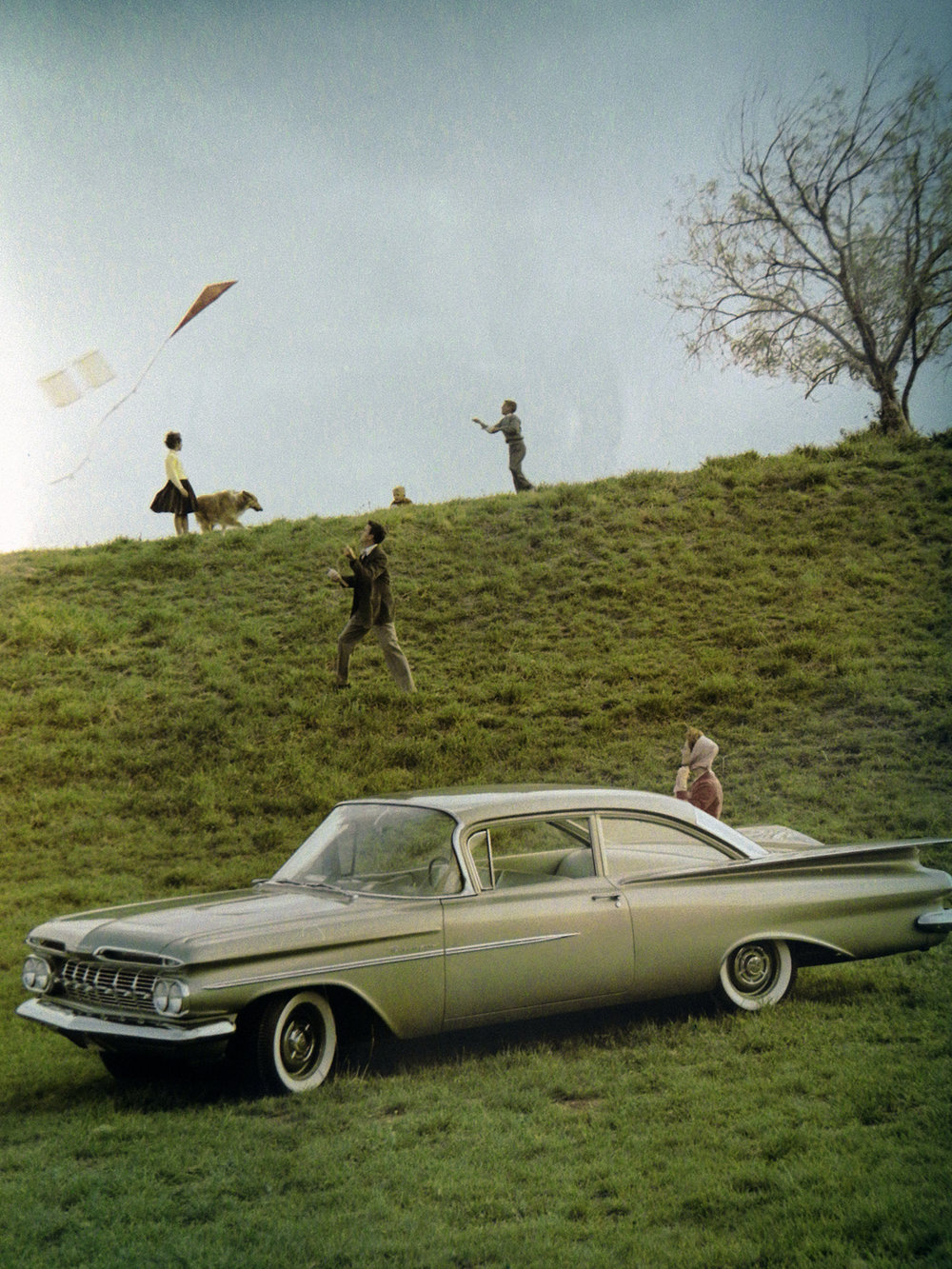 Chevy Advertisement, 1957
