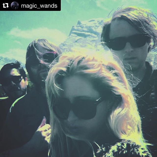 Join us tomorrow night!  Visit the merch table 🙂  #Repost @magic_wands ・・・ @etxerecords presents Magic Wands official album release at @thelashsocial tomorrow night 7.27 with special guest dj set by @drinkingflowers . Doors 9pm • New interview up at The blog that celebrates itself 🇧🇷Brazil  Abrakadabra out now ⚡️ vinyl orders via @etxerecords | cds via Casa Del Puente Discos