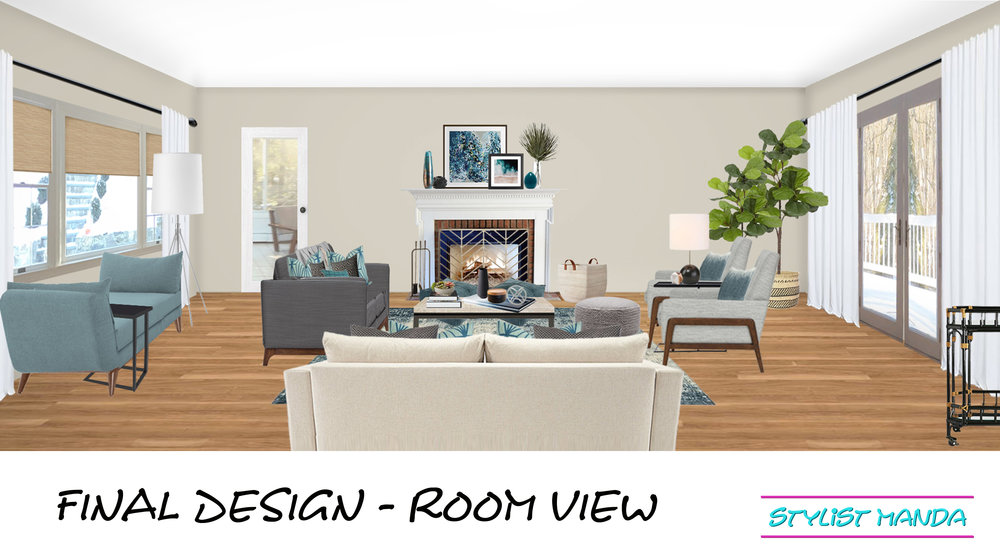 final design room view example