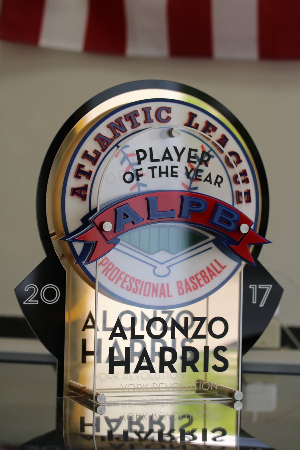Atlantic League of Professional Baseball - Player of the Year Award  Contact us for pricing information.