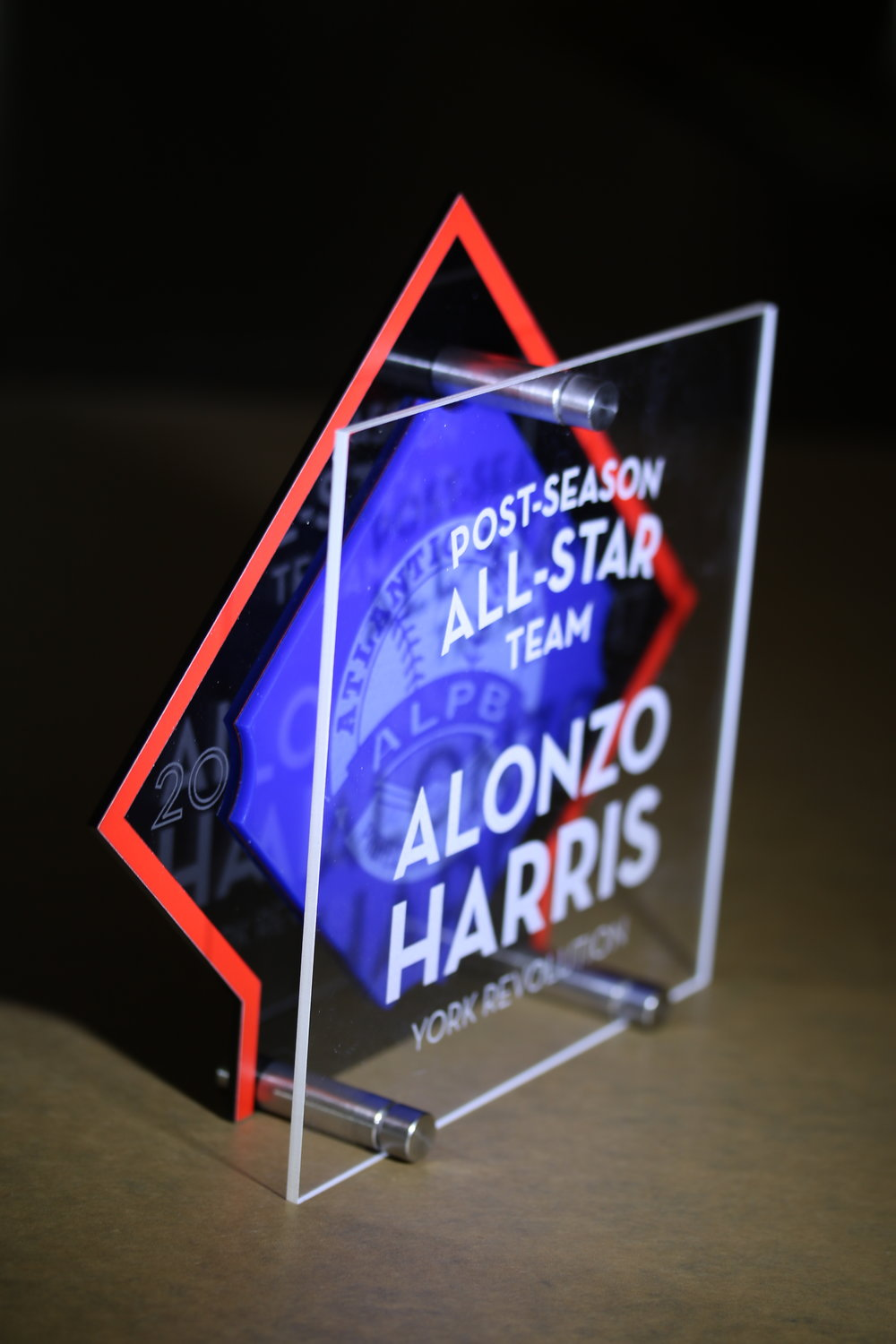 Atlantic League of Professional Baseball - All-Star Award  Contact us for pricing information.